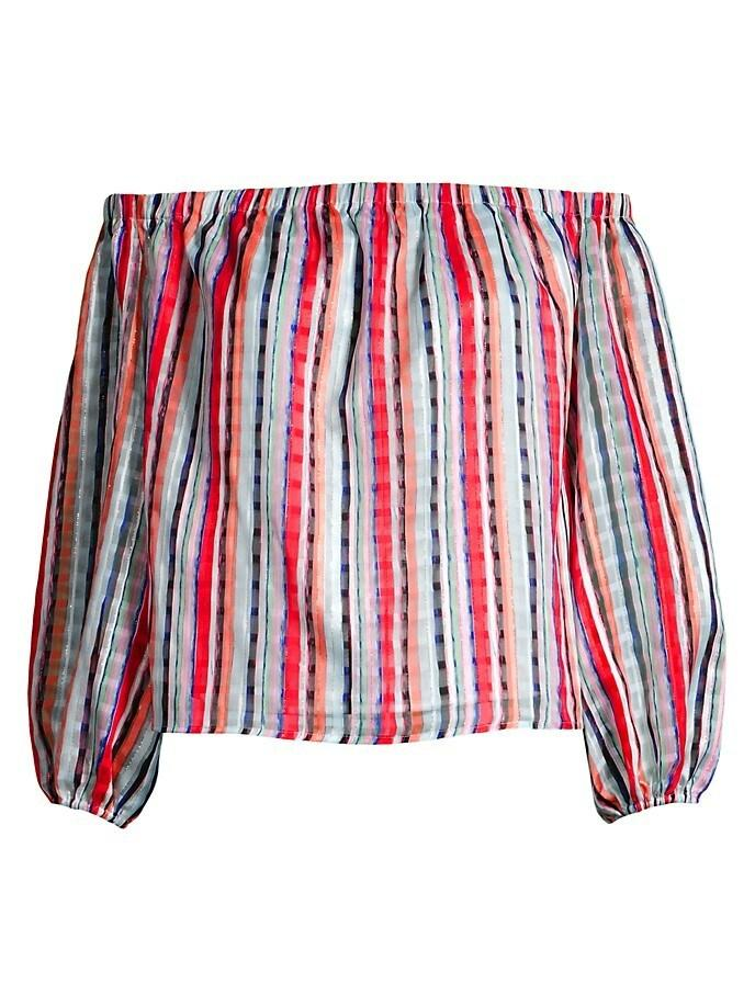 Bella Watercolor Stripe Top
