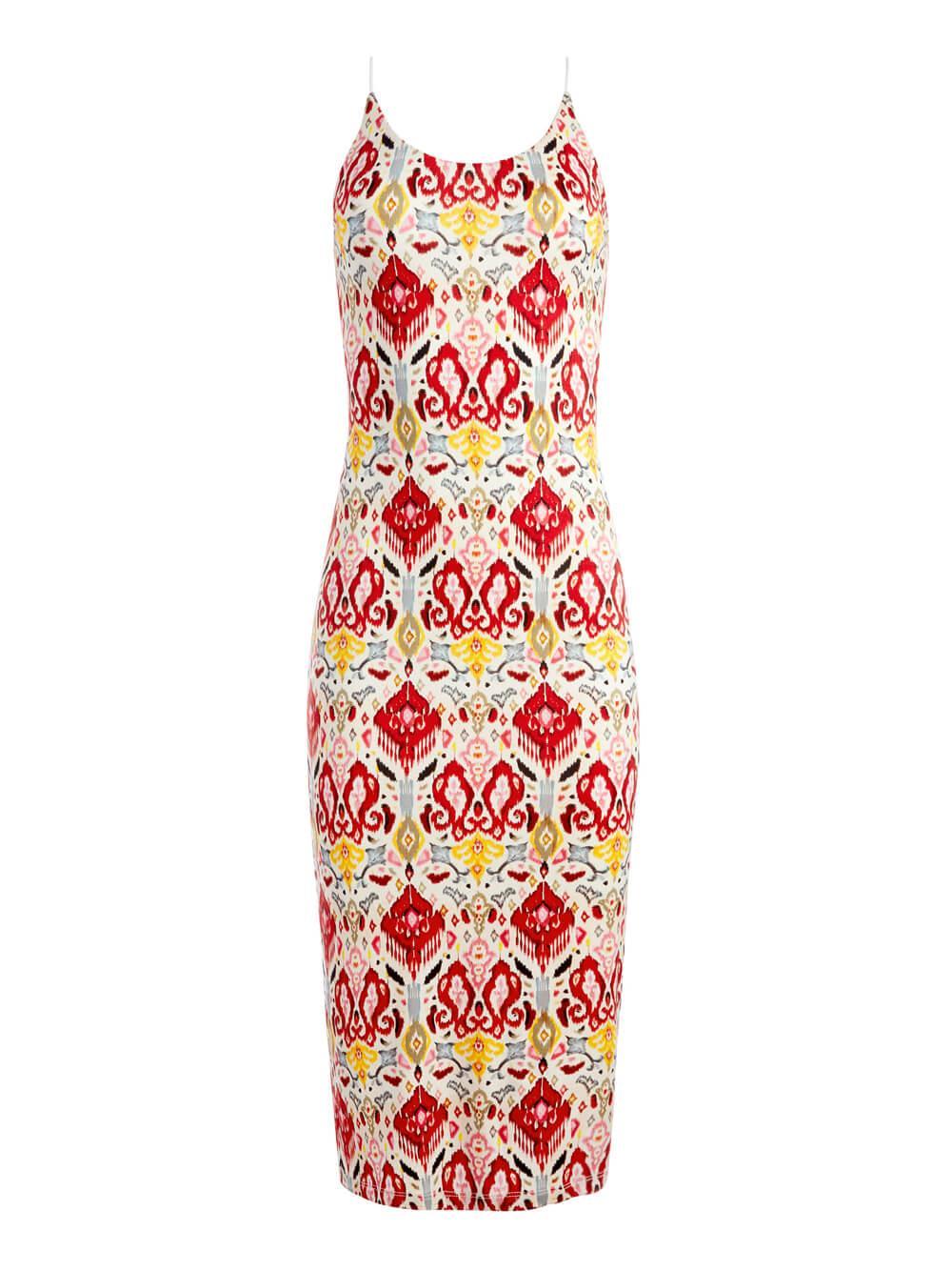 Delora Midi Dress Item # CC106P20504