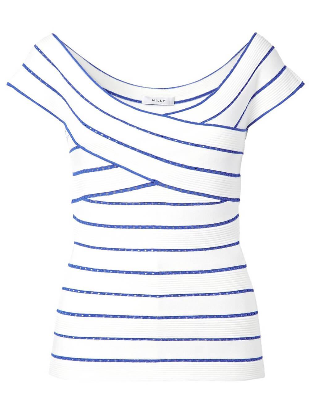 Bicolor Striped Top