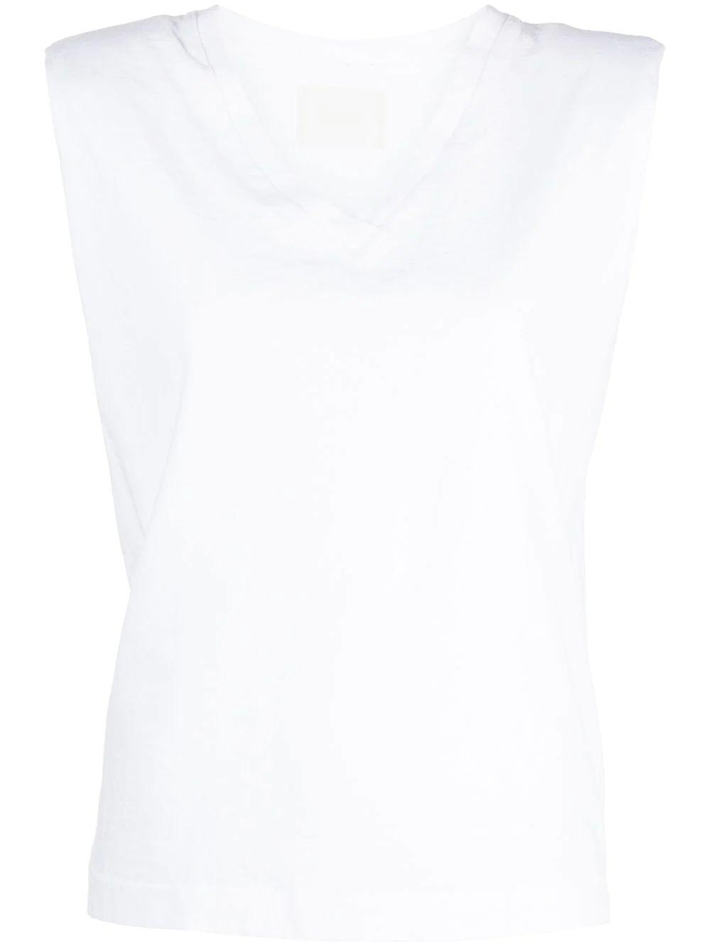 Zosia Padded Shoulder Tee