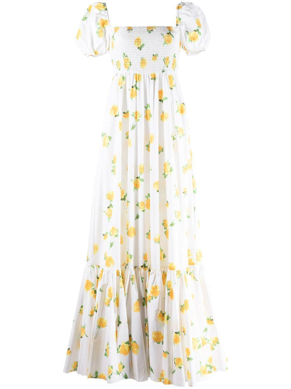 Gianna Printed Maxi Dress Item # D481GTCS21