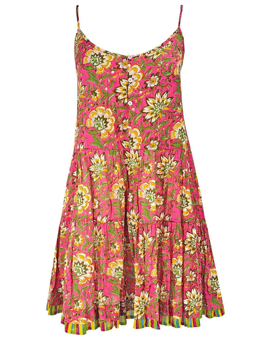 Tracy Printed Cami Dress Item # TRACY04