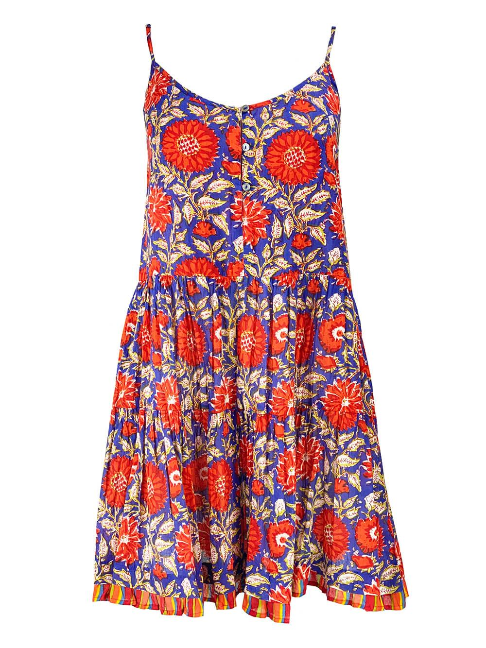Tracy Printed Cami Dress