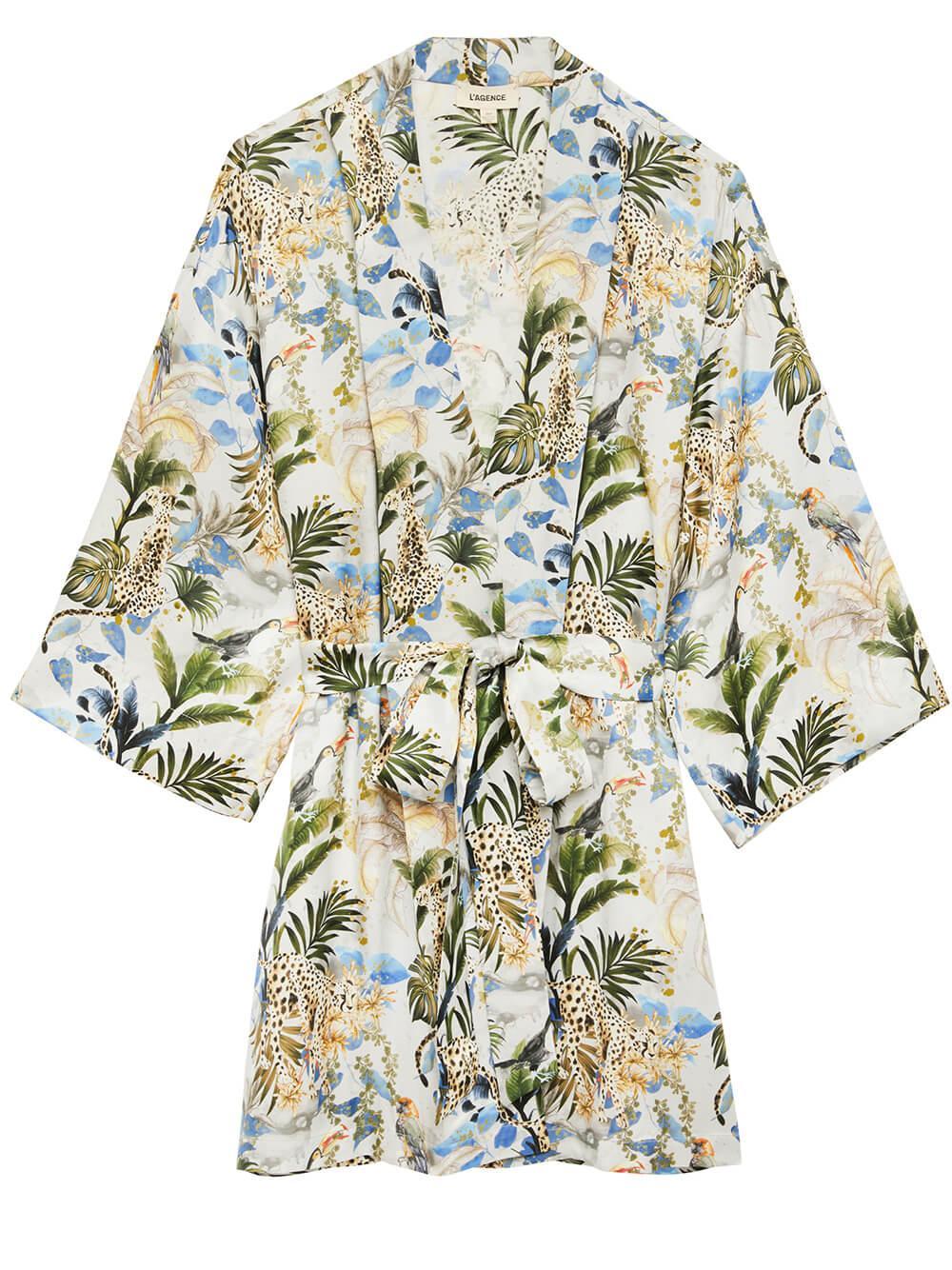 Hayden Printed Kimono Item # 1605PPL