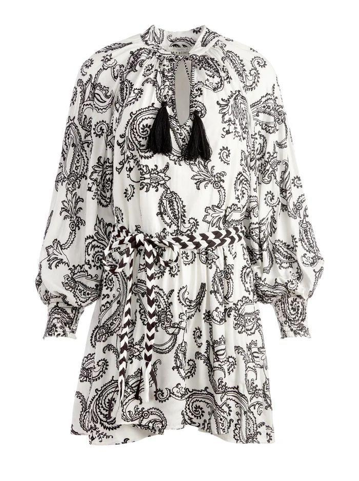 Lilian Belted Mini Dress