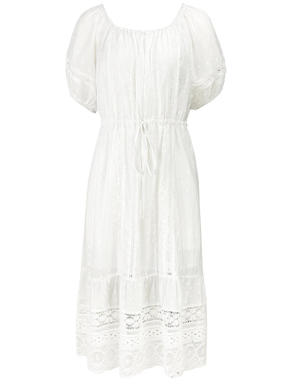 Adalyn Peasant Dress