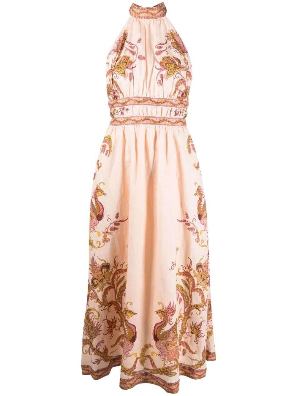 Cassia Midi Dress