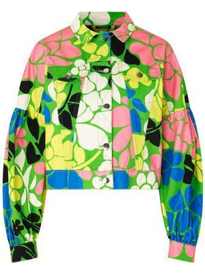Lyric Printed Jacket