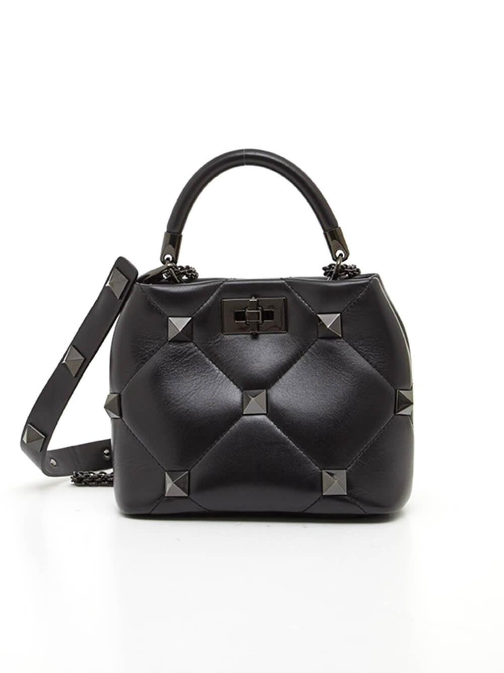 Roman Stud Small Top Handle Bag Item # WW2B0I97LWB