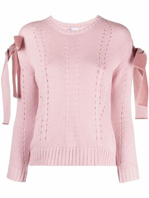 Sweater With Bow Details