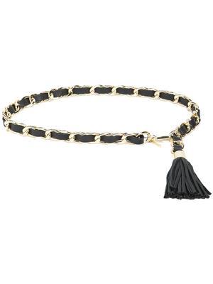 Gwen Chain Tassel Belt
