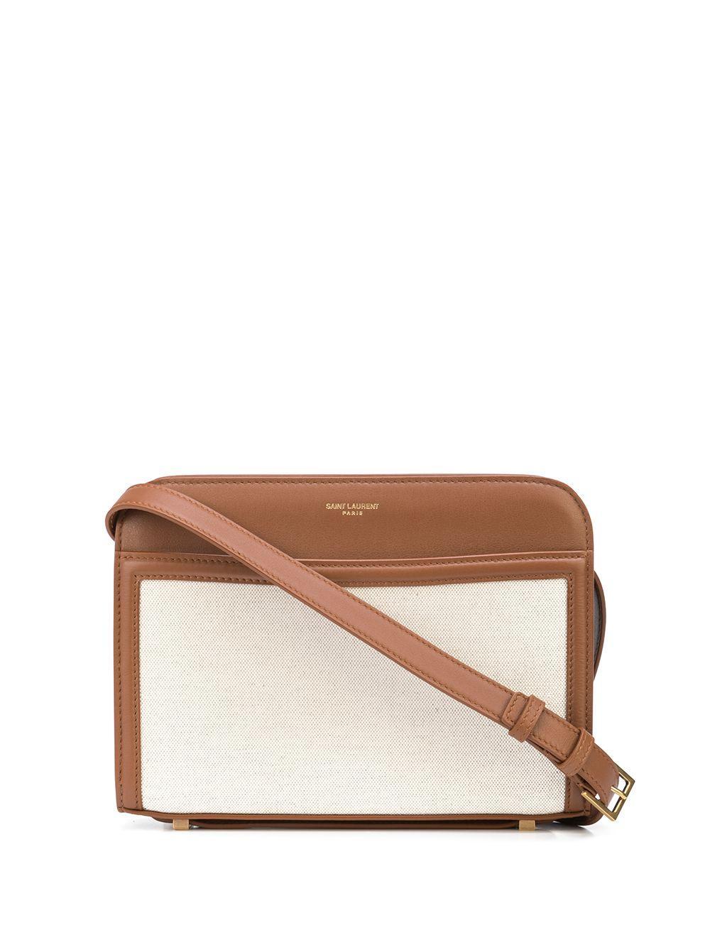 Reverse Canvas Shoulder Bag
