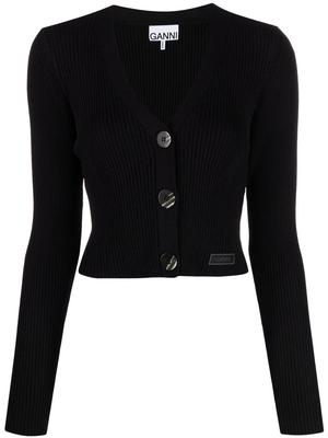 Melange Knit Cardigan