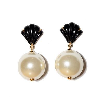 Shell Door Knocker Earrings