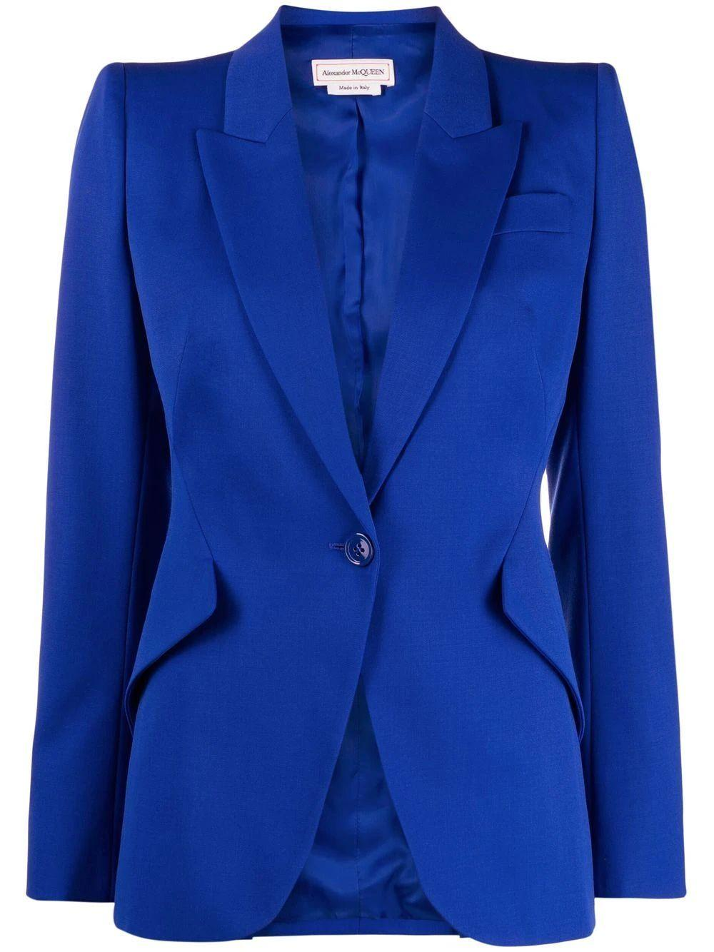 Tailored One Button Jacket