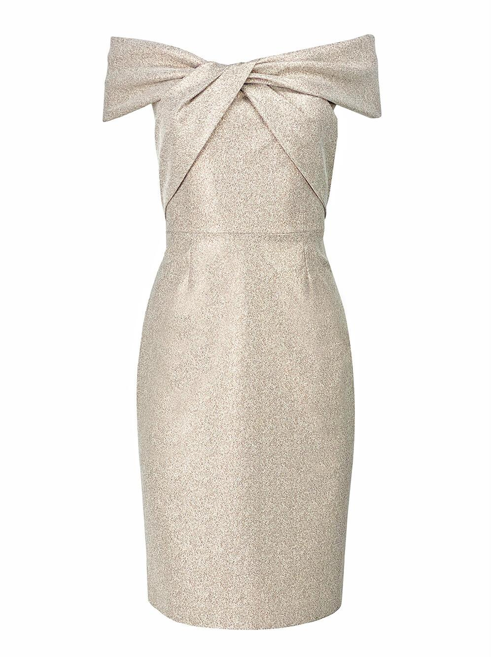 Off The Shoulder Midi Dress Item # 217217