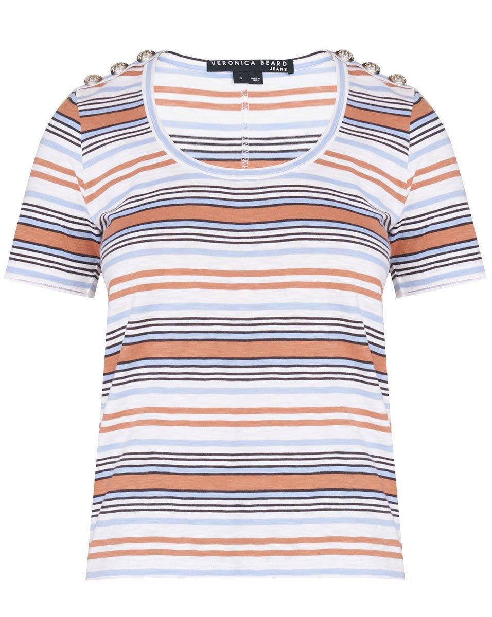 Benji Striped Tee Item # J2106JY0490607