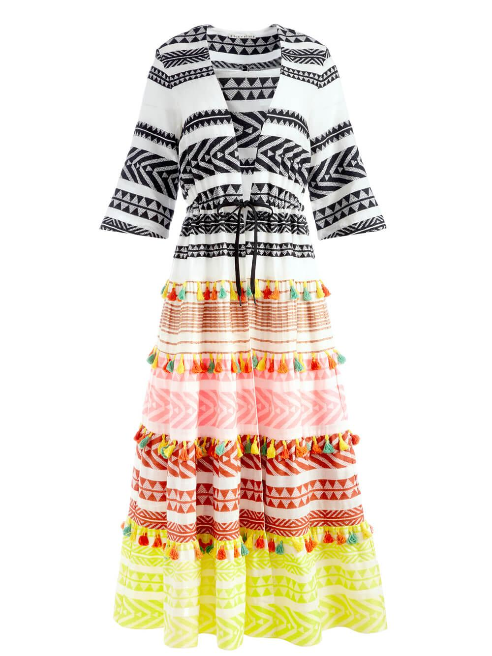Talia Drawstring Kimono Item # CC105Q58203