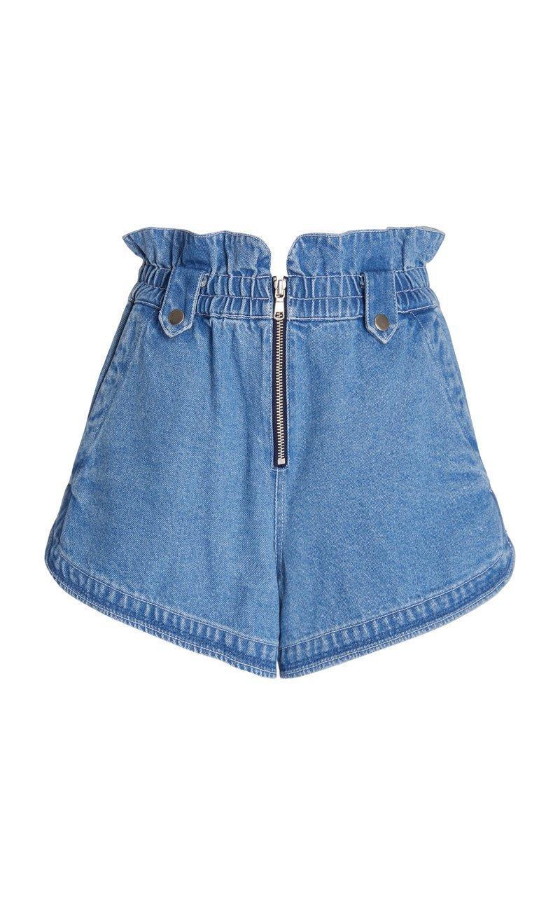 Alyssa Denim Shorts Item # PF21-26141