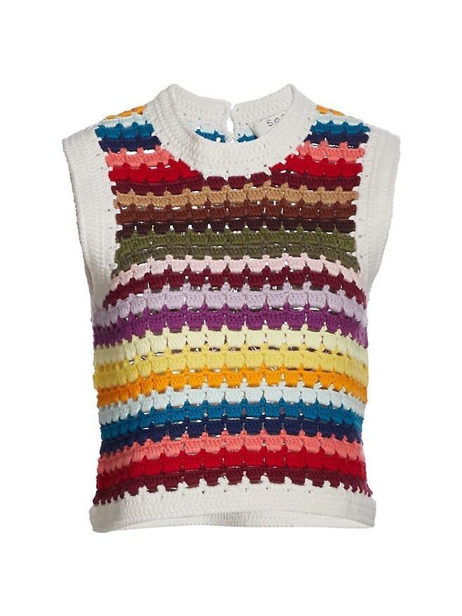 Ziggy Crochet Vest