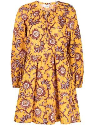 Myra Printed Dress