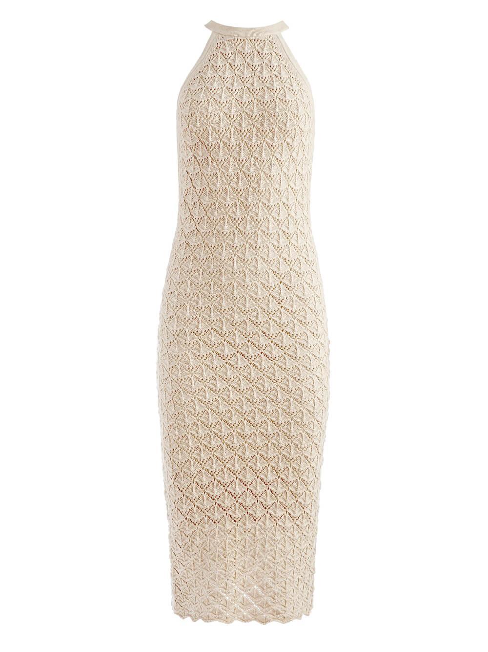 Lulu Fitted Midi Dress