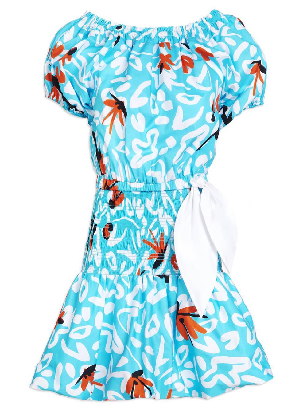 Gwen Printed Dress