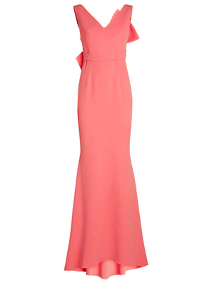 Bow Back Detail Gown