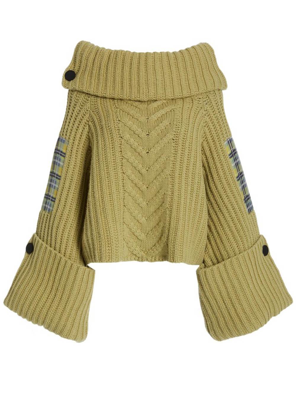 Missy Chunky Knit Sweater Item # HP21K110-98