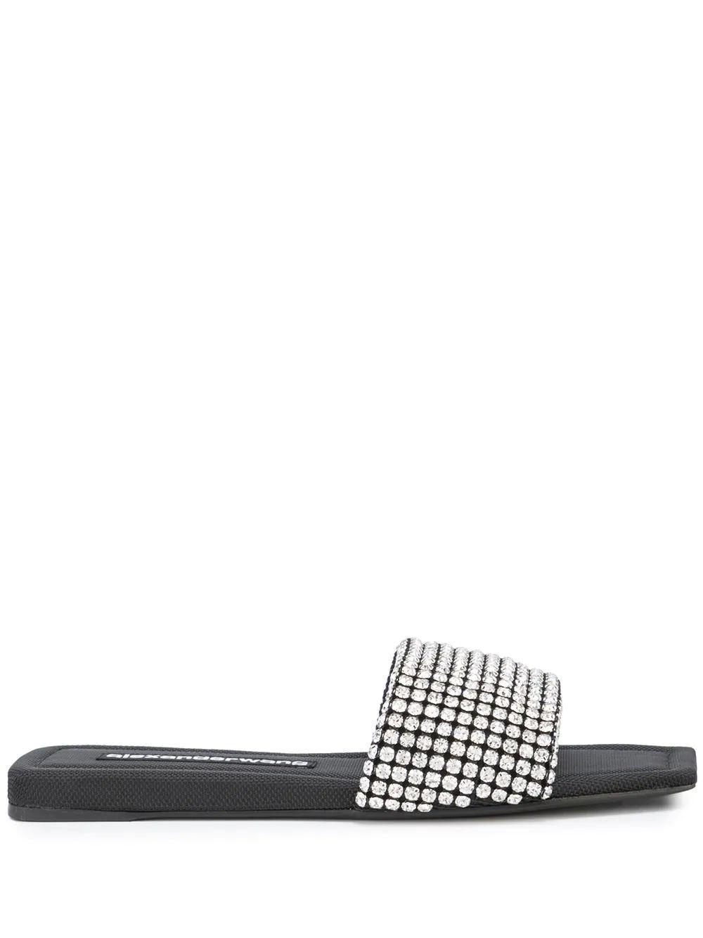 Anya Crystal Slide Sandal Item # 30321S039