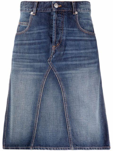 Fiali Denim Skirt Item # 21AJU1165-21A016E