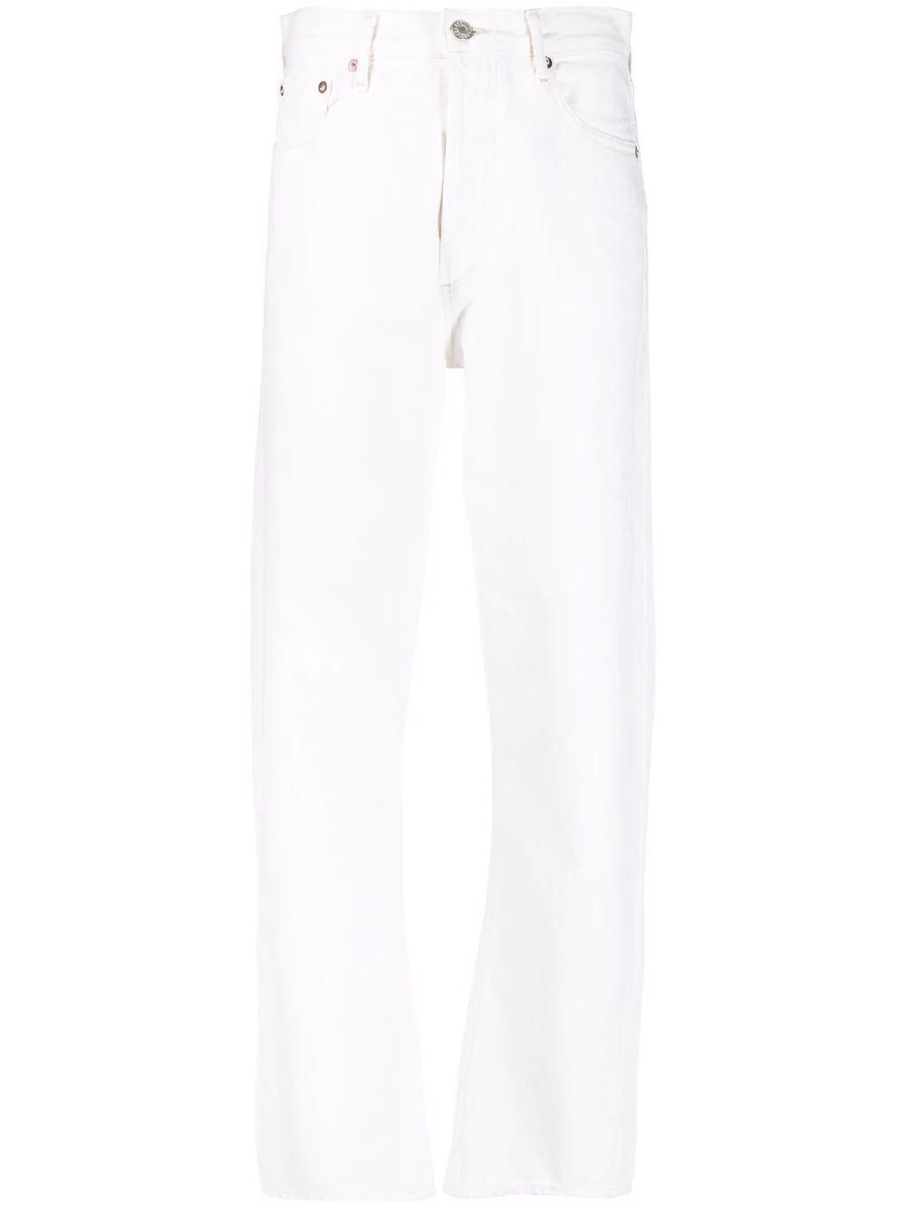 90s Pinch Waist Straight Leg Jean