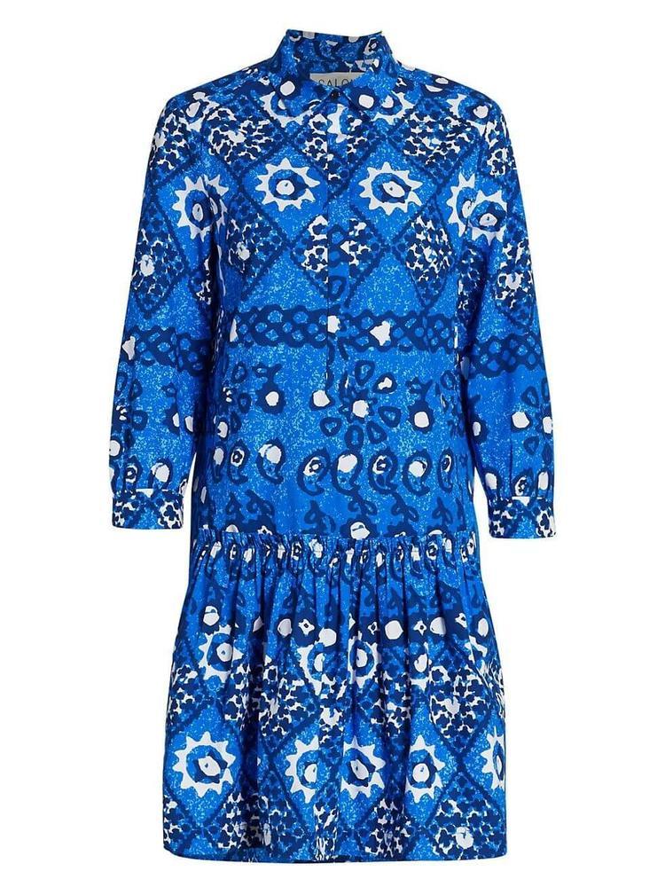 Tilly Printed Shirt Dress Item # 10394