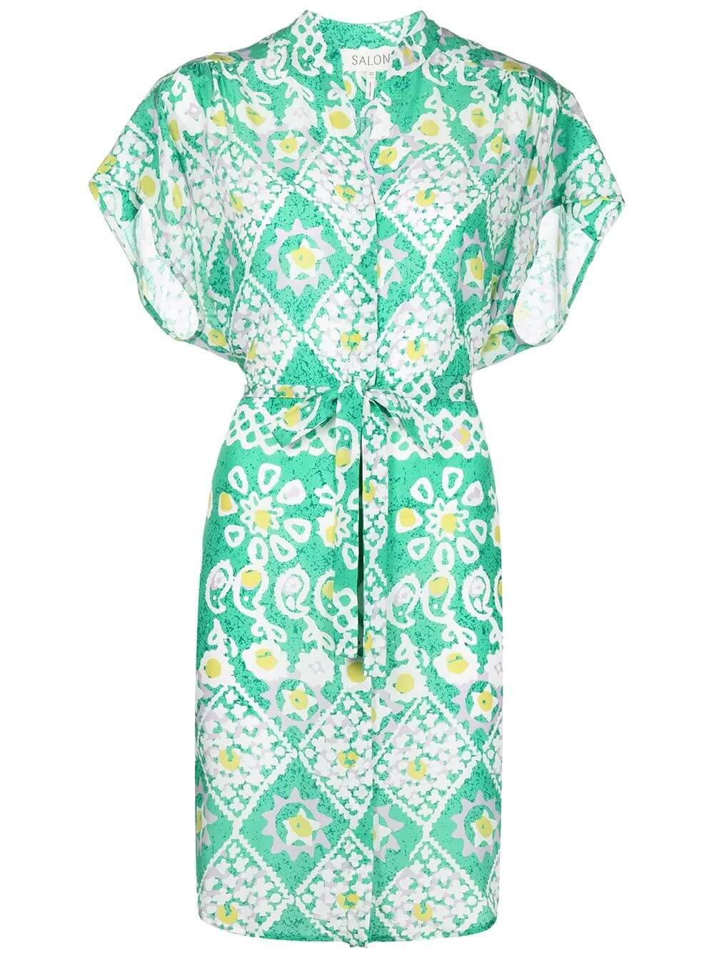 Tilda Silk Dress Item # 10543