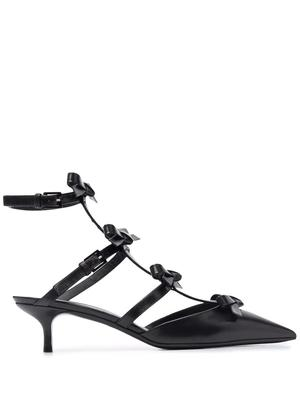 Caged Bow Pumps