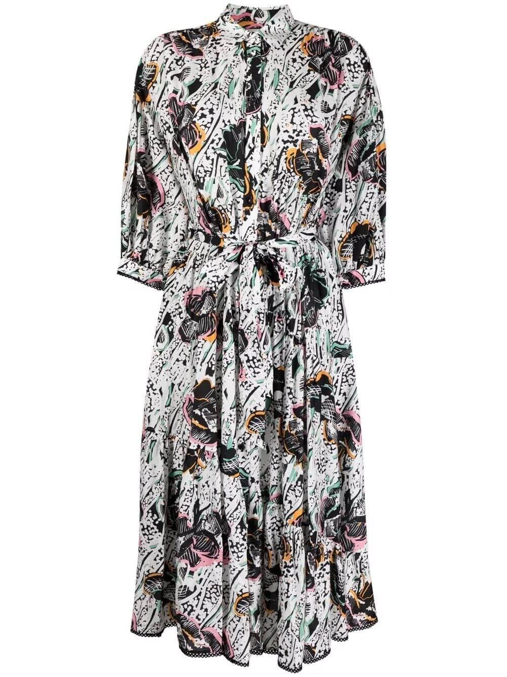 Luna Midi Shirt Dress