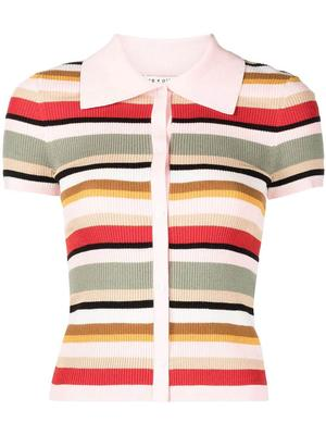 Colleen Striped Knit Top