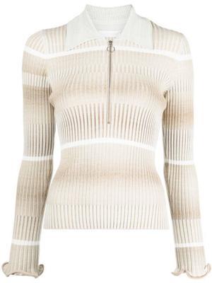 Allyson Space Dye Knit Top