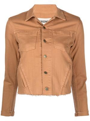 Janelle Slim Denim Jacket