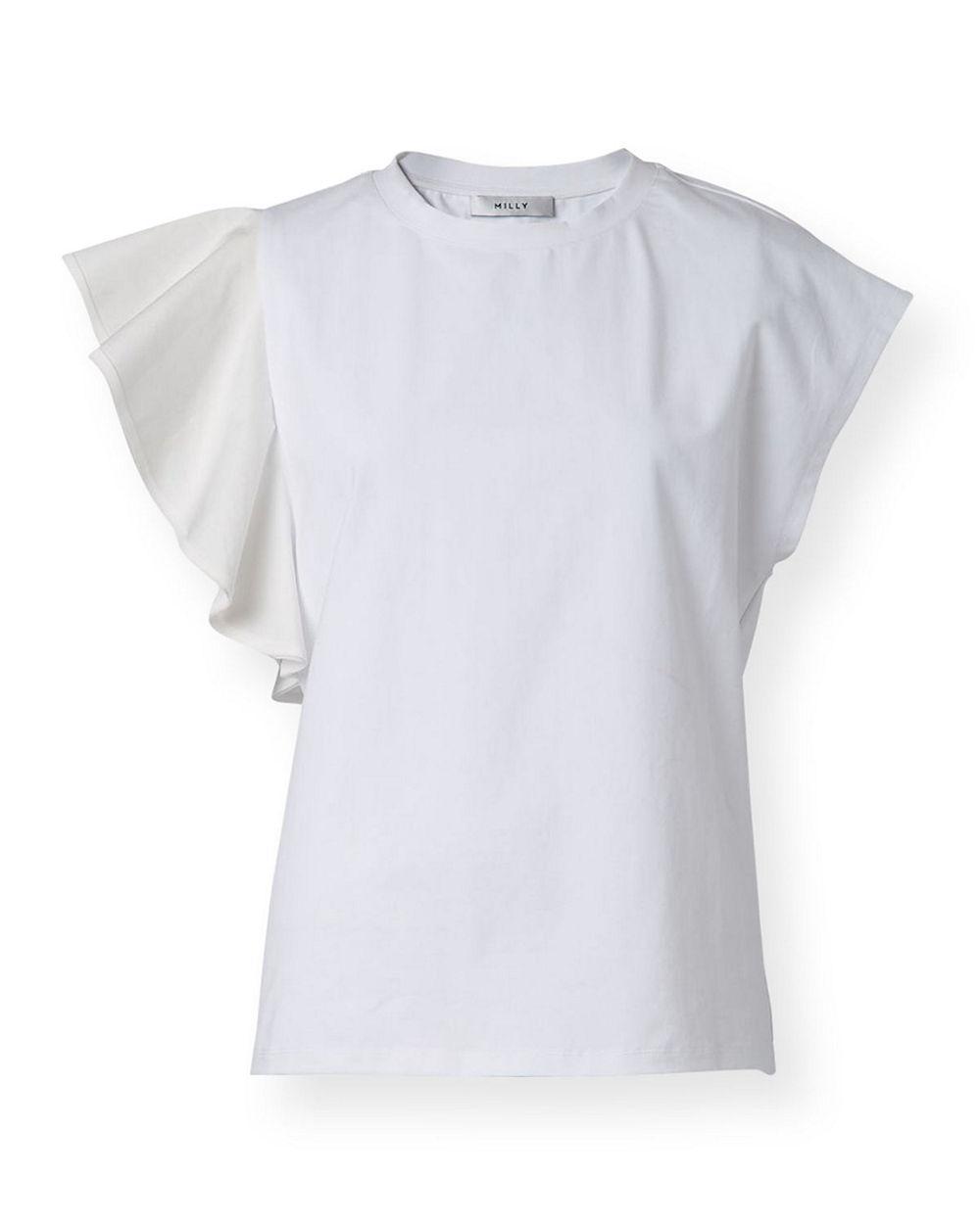 Parker Ruffle T- Shirt Item # 11PT22