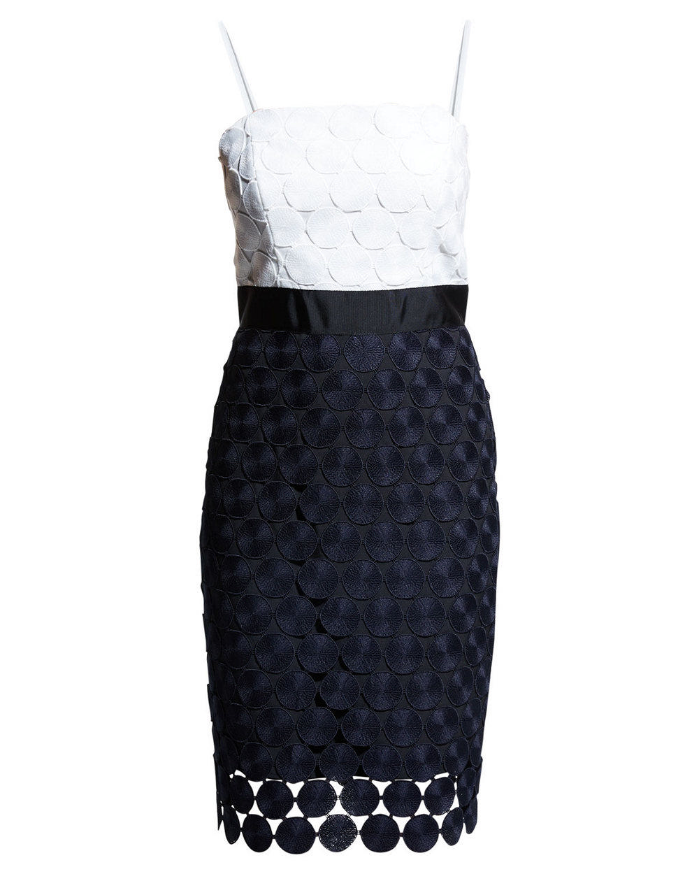 Oversized Dot Embroidered Dress Item # 95PD61