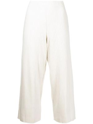 Rib Cropped Pants