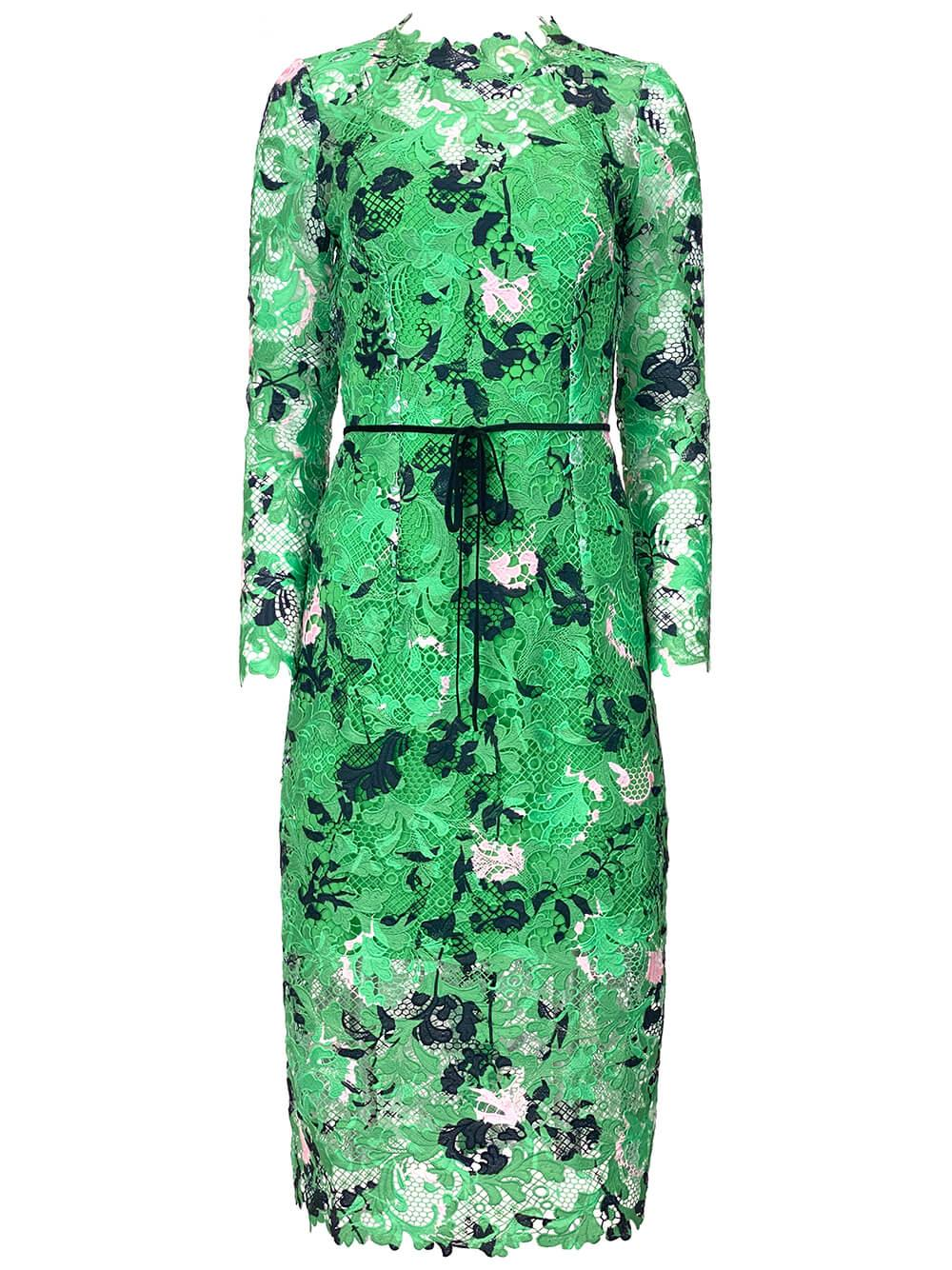 Floral Lace Sheath Dress Item # 21450-460