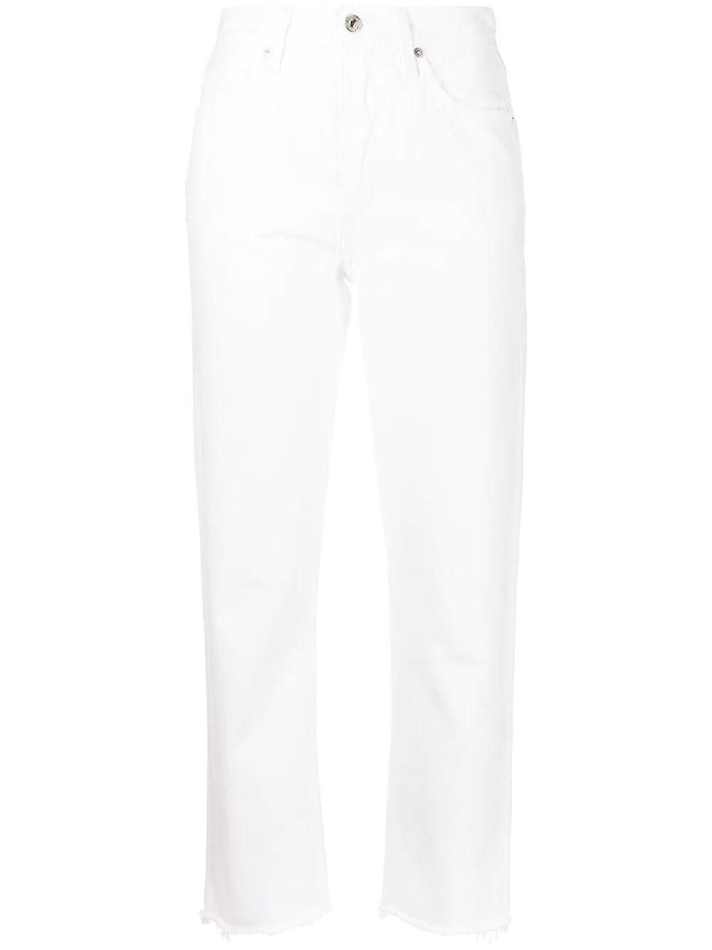 Daphne High Rise Cropped Jeans
