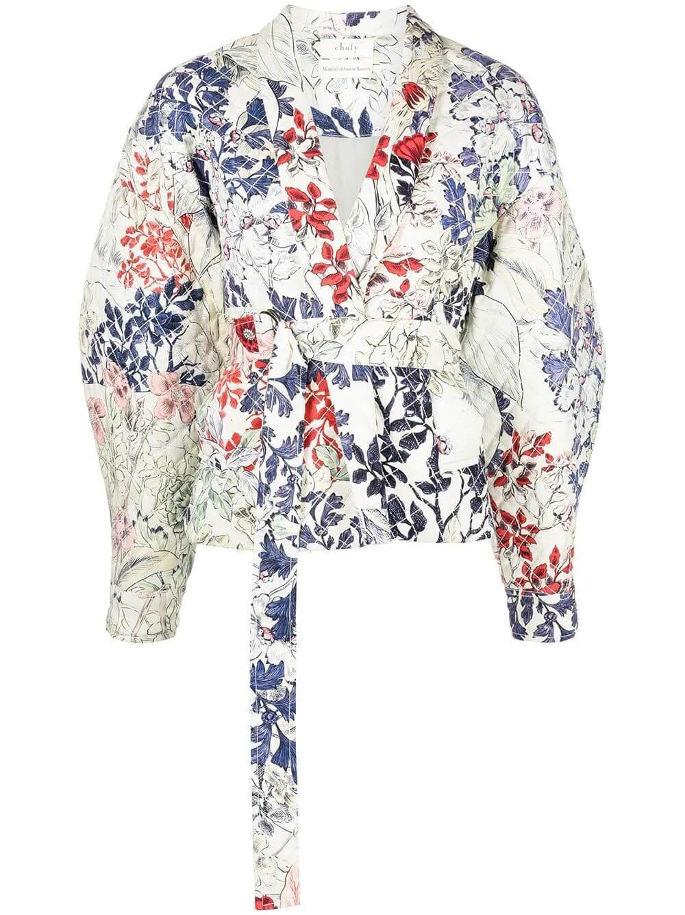 Dorin Tie Waist Jacket Item # ROHS211E