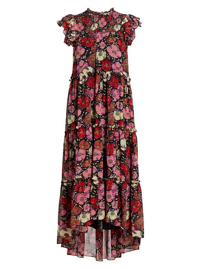 Ricki Floral Printed Dress Item # ZD14604524Z