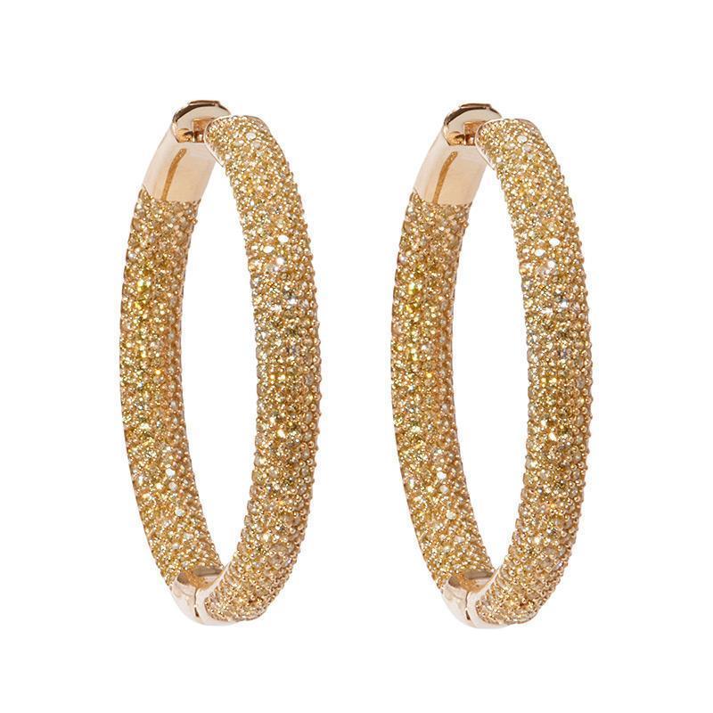 Tire Hoop Earrings