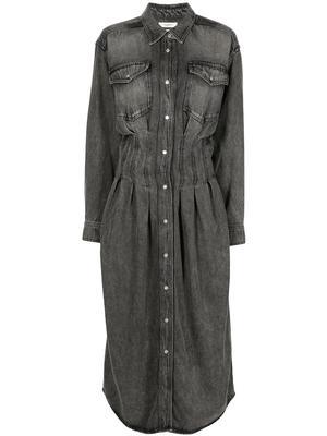 Tomie Denim Maxi Dress