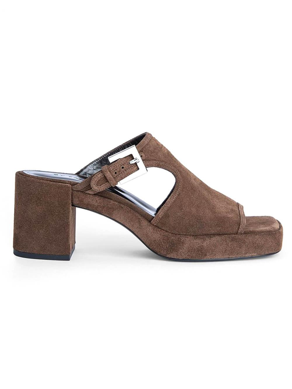 Melba Block Heel Sandal Item # 21PFMELBMWOU