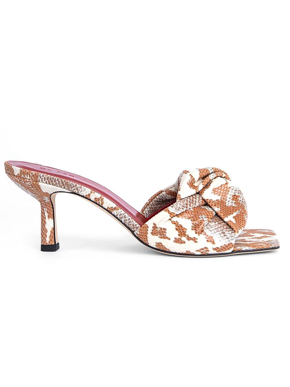 Lana Snake Print Sandal